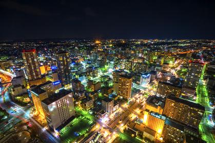 浜松の夜景
