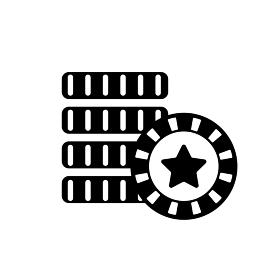 カジノコイン メダル アイコン
