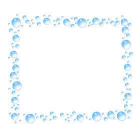 水滴CGの囲み