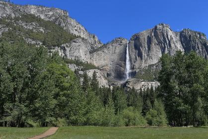 ヨセミテ滝 国立公園 カリフォルニア州 アメリカ合衆国
