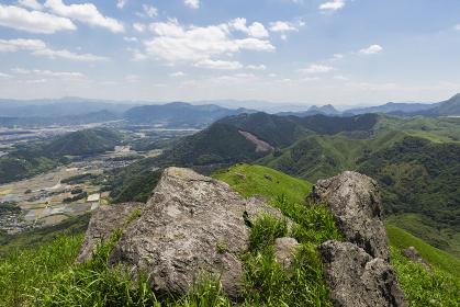 北九州国定公園平尾台 桶ヶ辻・天狗岩付近