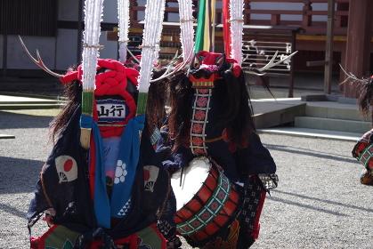 平泉毛越寺 藤原まつり 鹿踊り