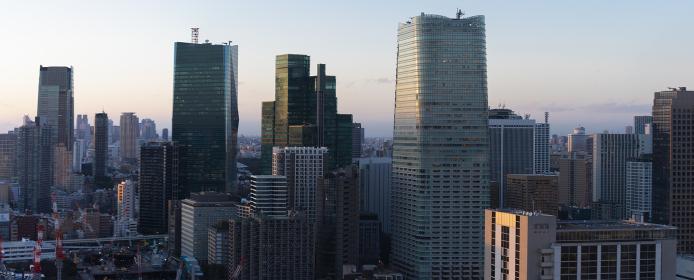 東京タワーよりのパノラマ風景