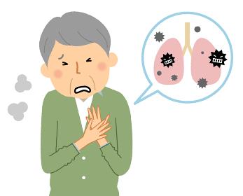 肺炎 高齢者 シニア男性