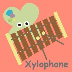 アルファベットカードXylophone