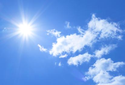 青空と雲 1501