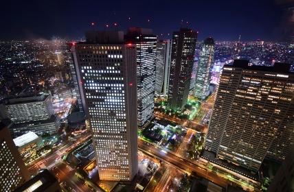 東京 夜景展望
