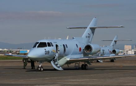 航空自衛隊のU-125A救難捜索機(2010年小牧基地航空祭)