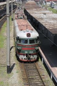 ウラジオストックの鉄道