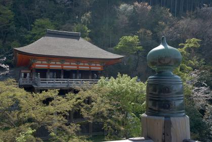 清水寺 本堂舞台から奥の院を望む 京都市
