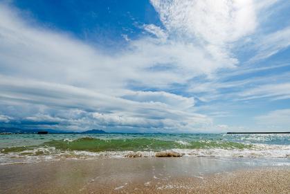 夏の津屋崎海岸(福岡県)