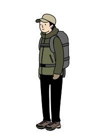 登山の服装 男性