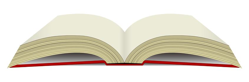 本・書籍 下から見た イラスト