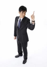 指を差すビジネスマン
