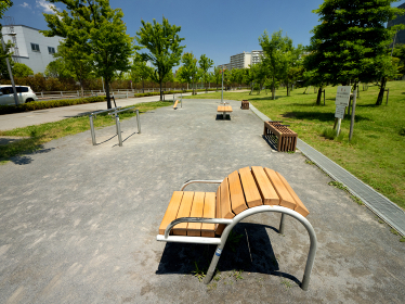 公園の健康遊具