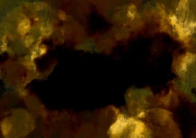 背景素材 金色黒混麻混和紙 和風