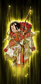 浮世絵 歌舞伎役者 その66 光バージョン