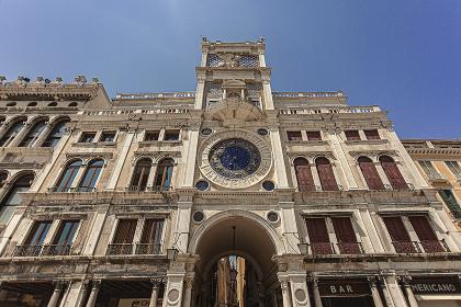 Clock tower in Venice 2