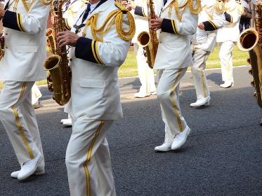 パレードの演奏隊