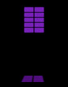 背景素材 暗闇に浮かび上がる窓 紫
