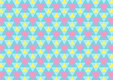 【パターン背景素材】ジオメトリックな三角形の背景 レトロC【パターンスウォッチあり】