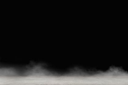 背景素材 / 暗闇と砂嵐のグラウンド イラスト