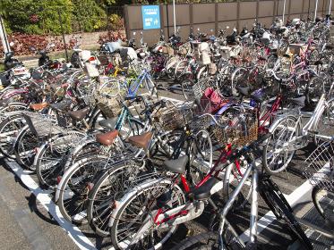 公共の駐輪場