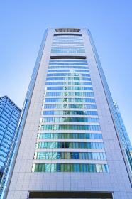 共同通信社 本社ビルの外観 【東京都の都市風景】