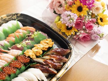 テイクアウト 寿司 ホームパーティ