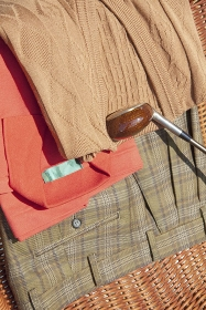 ゴルフクラブとゴルフウェア
