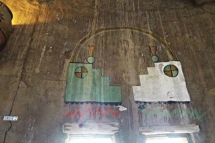 インディアン・タワー内部壁画物語