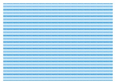 クレヨン ボーダー スウォッチ パターン テクスチャ18【ブルー/2色】