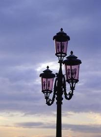 ベネチアの街灯