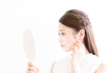 女性・スキンケア・日本人・アジア人