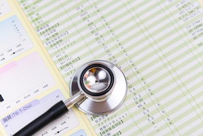 聴診器 健康診断結果 医療イメージ