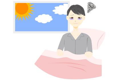 不眠症 ミドル 女性 朝