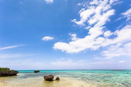 日本の国立公園、沖縄県石垣島の海