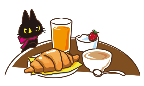 フランス風朝食