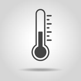 温度計のアイコン