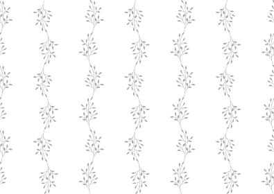 グレーの小枝のシームレスな背景イラスト 2
