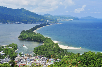 天橋立。日本三景。
