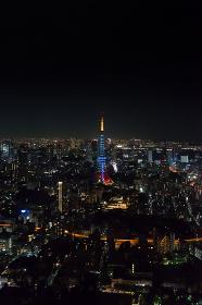東京タワー(ライトアップ・限定色・夜景)