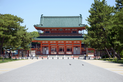 平安神宮 應天門 京都市