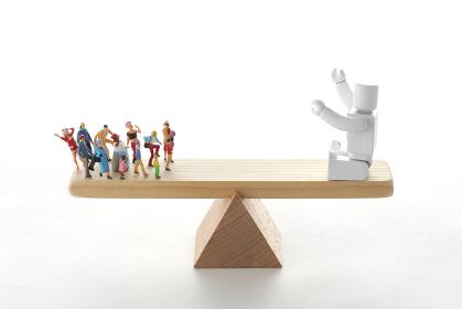 ロボットと人間の能力比較