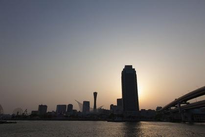 神戸の夕暮れ2013年
