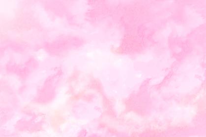 水彩調 アブストラクト背景 ピンク色4689
