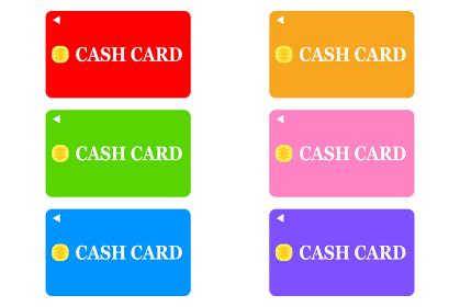 ICチップ搭載のキャッシュカード