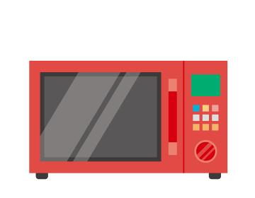 電子レンジのベクターイラスト 家電