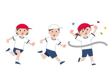 学校 体育祭 運動会 マラソン