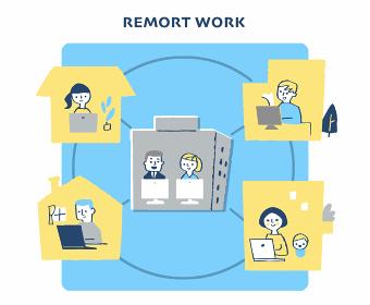 リモートワーク イメージ
